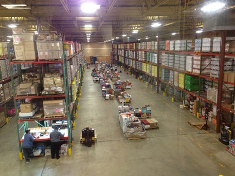 Climate controlled warehouse facilities